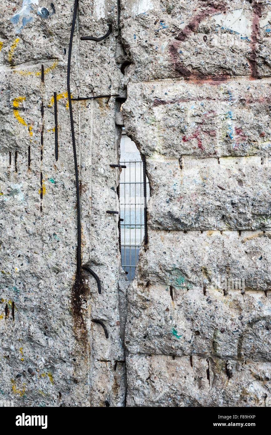 El muro de Berlín, Alemania Imagen De Stock