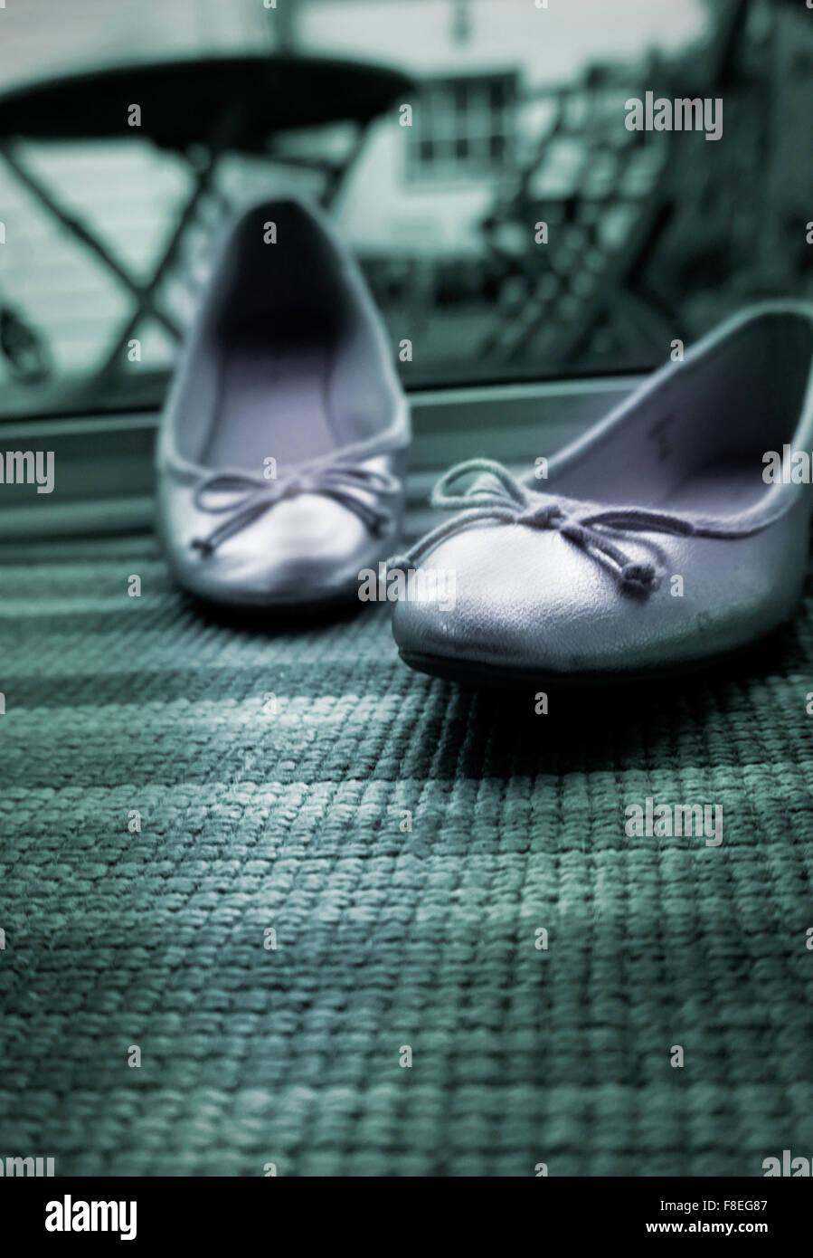 Disgarded womens zapatos Imagen De Stock