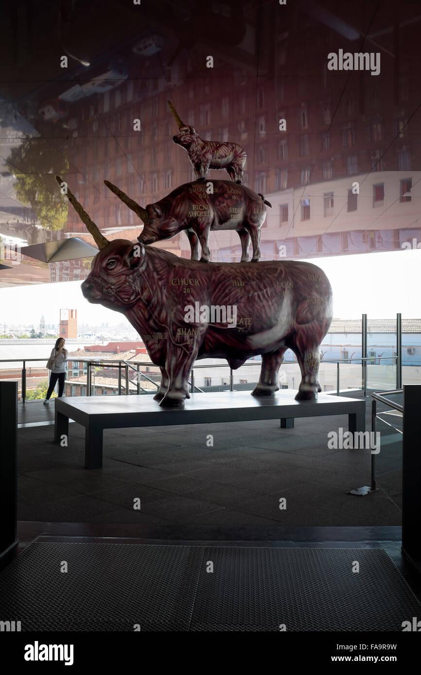 El Trigo Y El Steak Escultura De Antoni Miralda En La