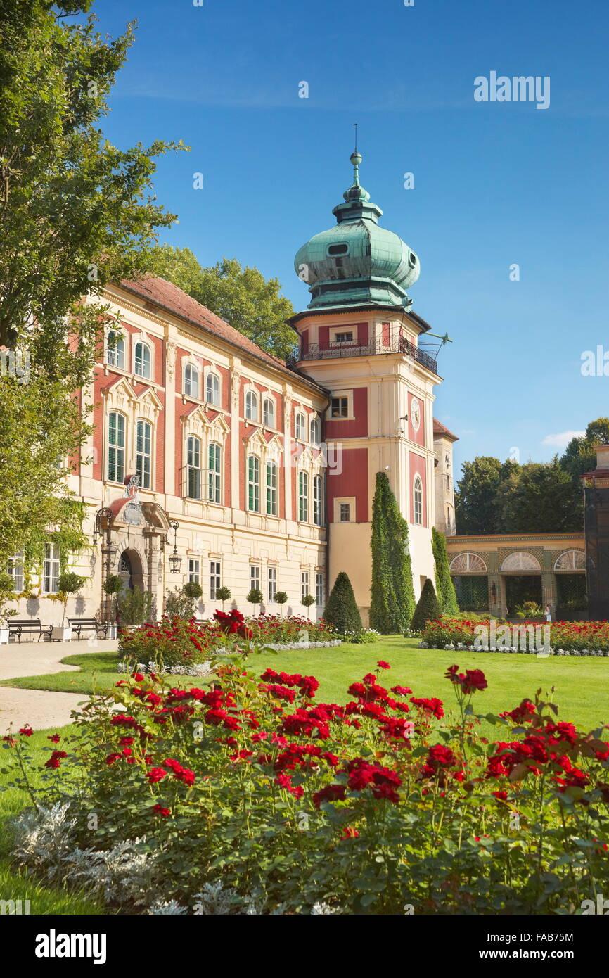 Lancut - el Castillo Real, Polonia Imagen De Stock