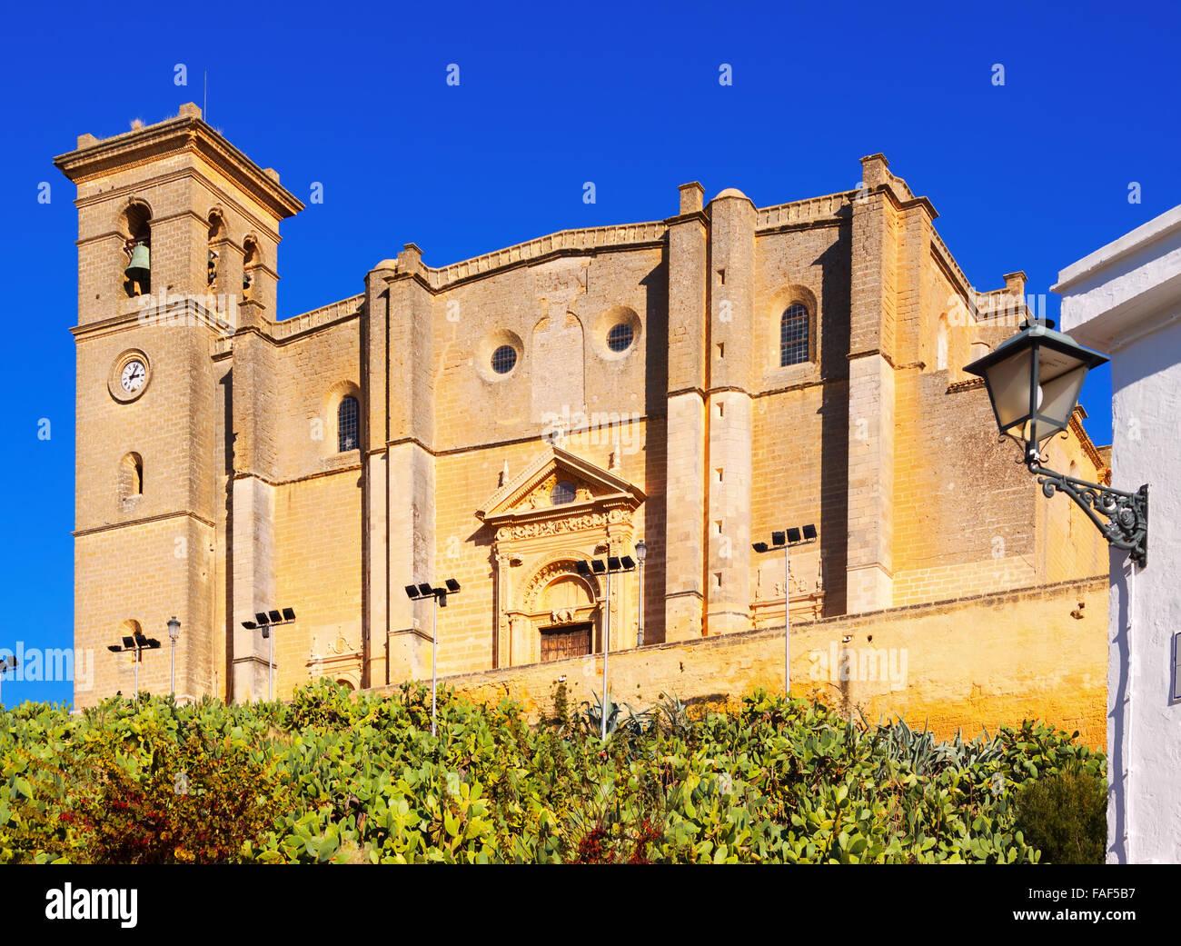 El monasterio y la iglesia colegial de Osuna. España Imagen De Stock