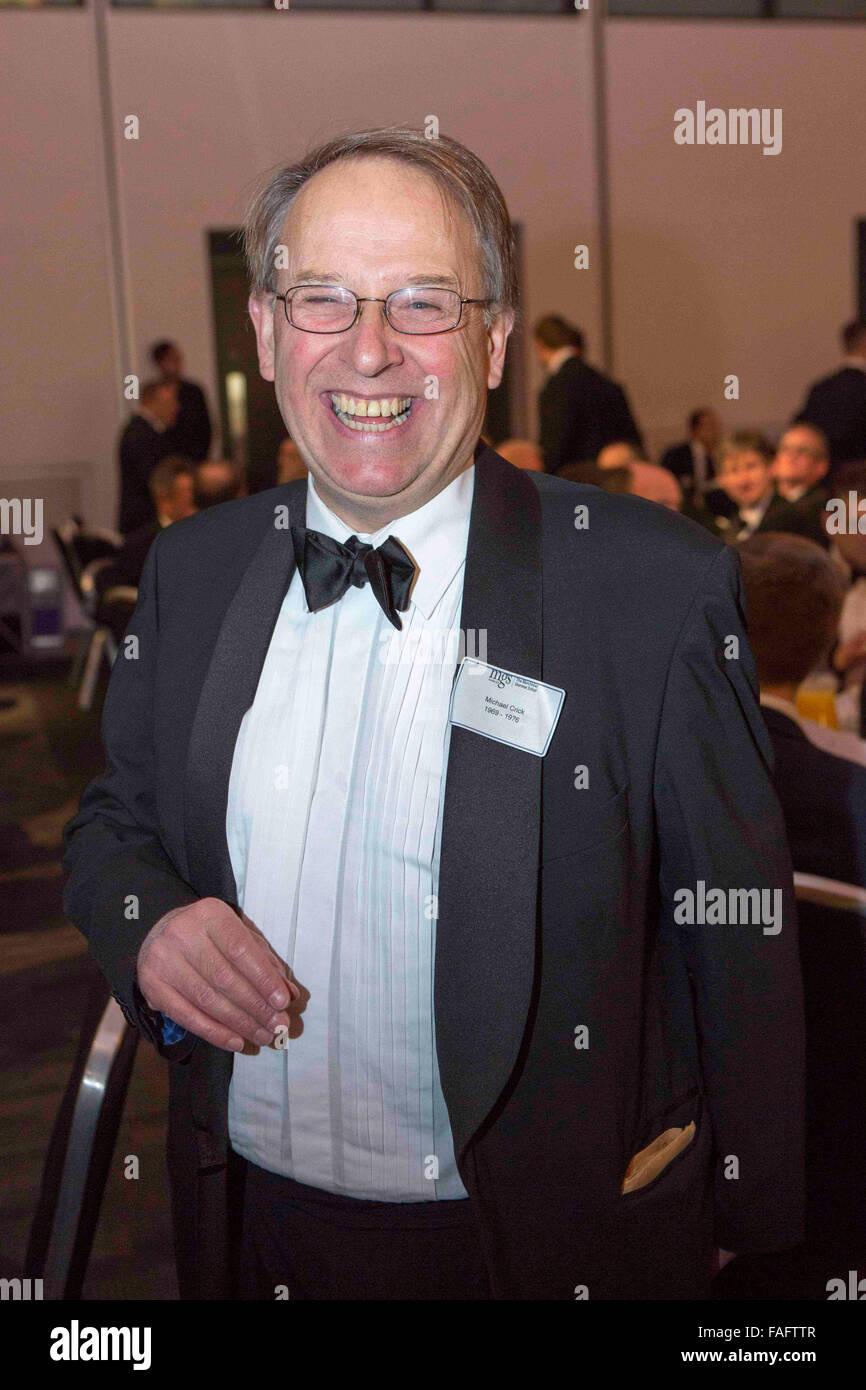 Michael Crick , periodista Foto de stock