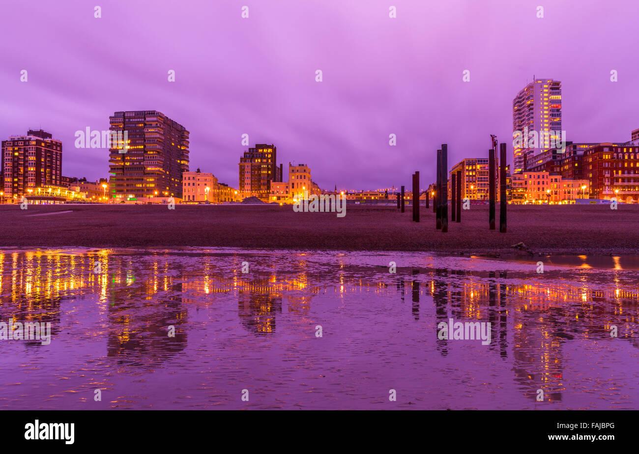 Ciudad de Hove vistas Foto de stock