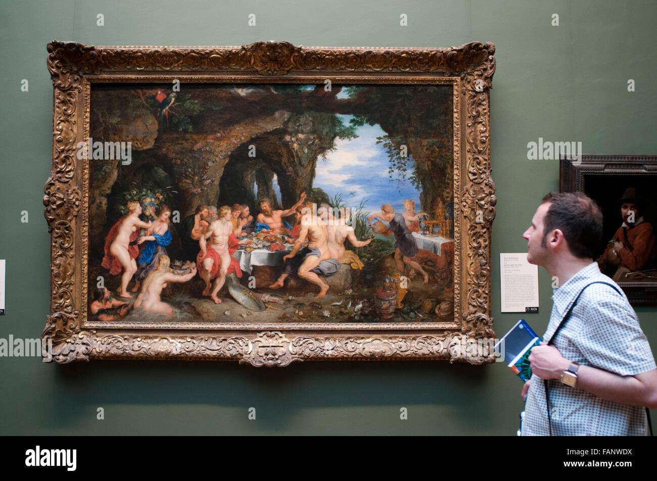 Peter Paul Rubens, Flamenco 1577-1640 y Jan Brueghel el Viejo Flamenco, 1568-1625. El Metropolitan Museum of Art, Nueva York, Estados Unidos. T Foto de stock