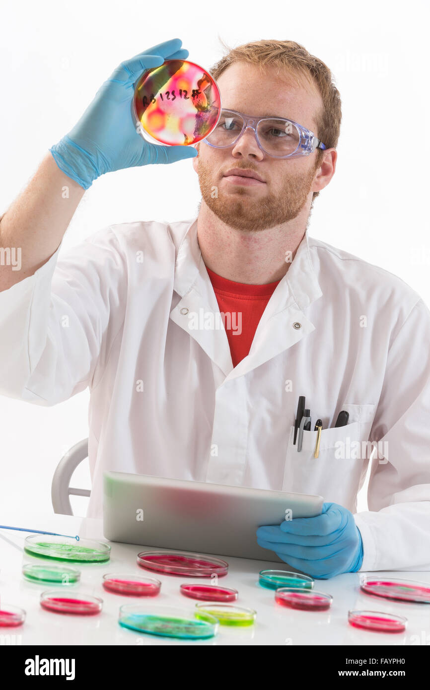 Concepto de salud y biotecnología. Imagen De Stock