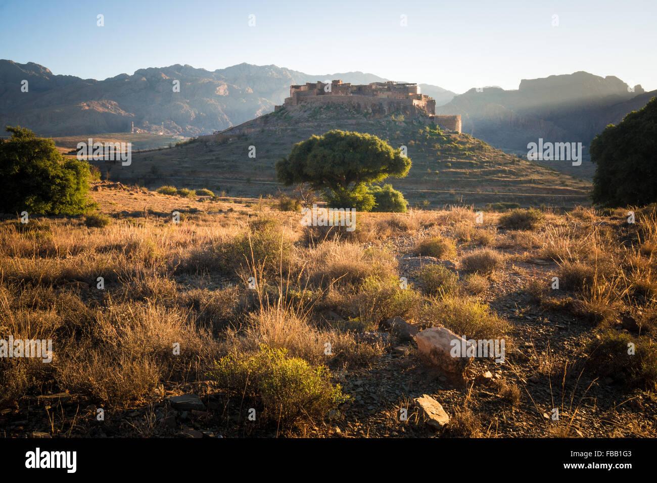 Tizourgane Kasbah, Marruecos Imagen De Stock