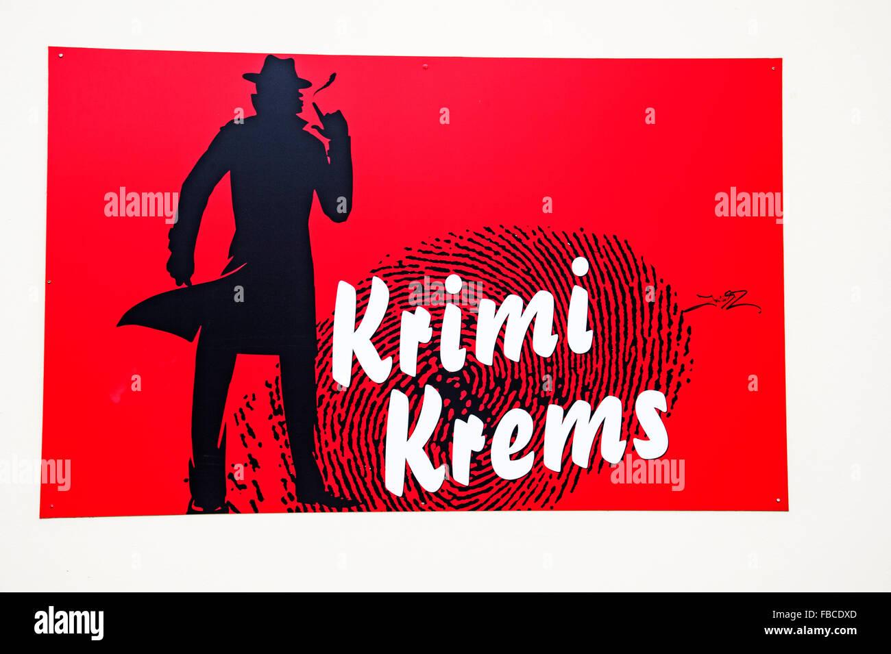 En Krems, Karikaturmuseum Wachau, Niederösterreich; museo de la caricatura, Krems, Wachau Austria Foto de stock