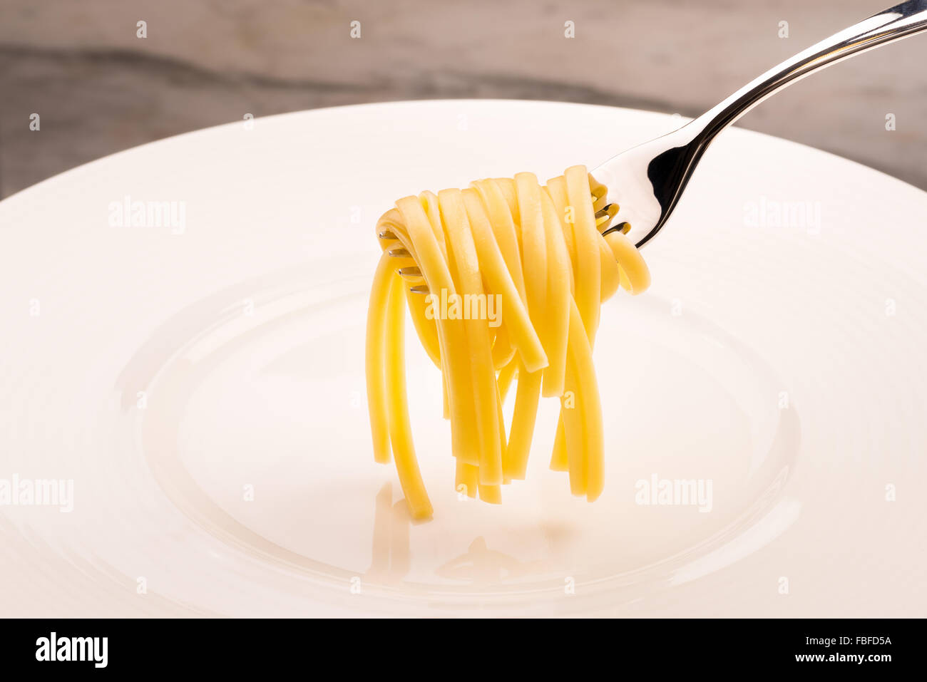 pasta de espaguetis Foto de stock