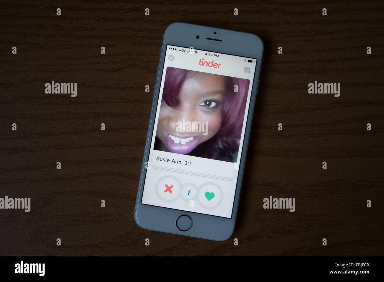 Yesca dating app Imagen De Stock