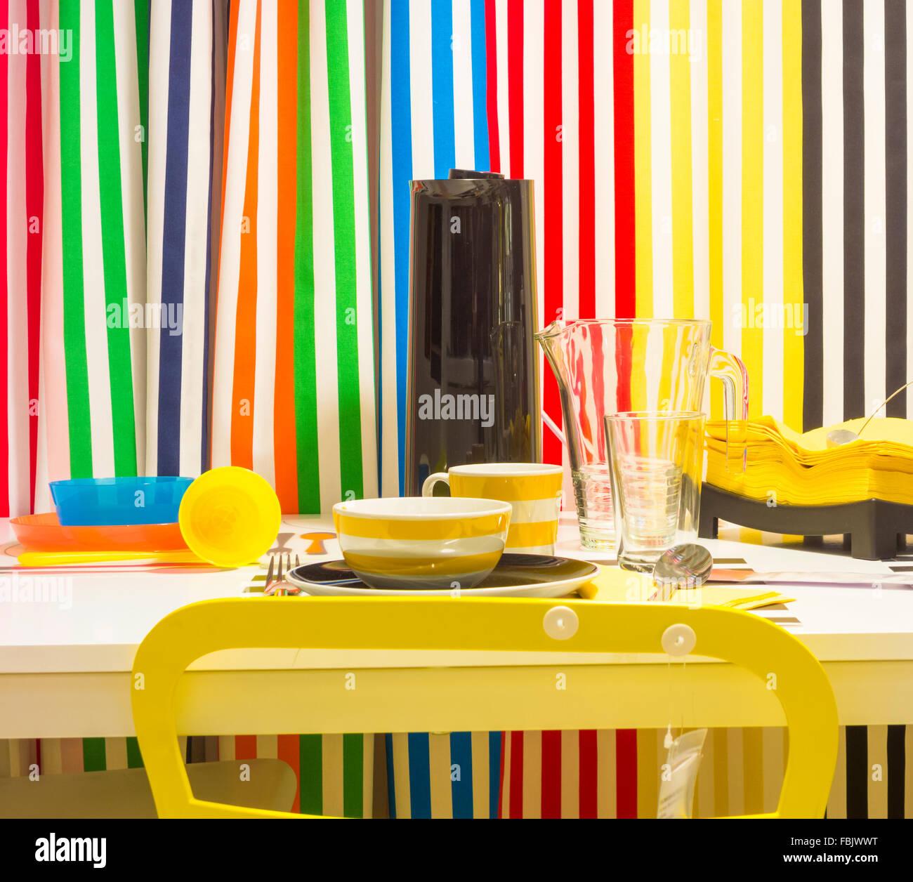 Muebles para el hogar en la tienda Ikea Foto & Imagen De Stock ...