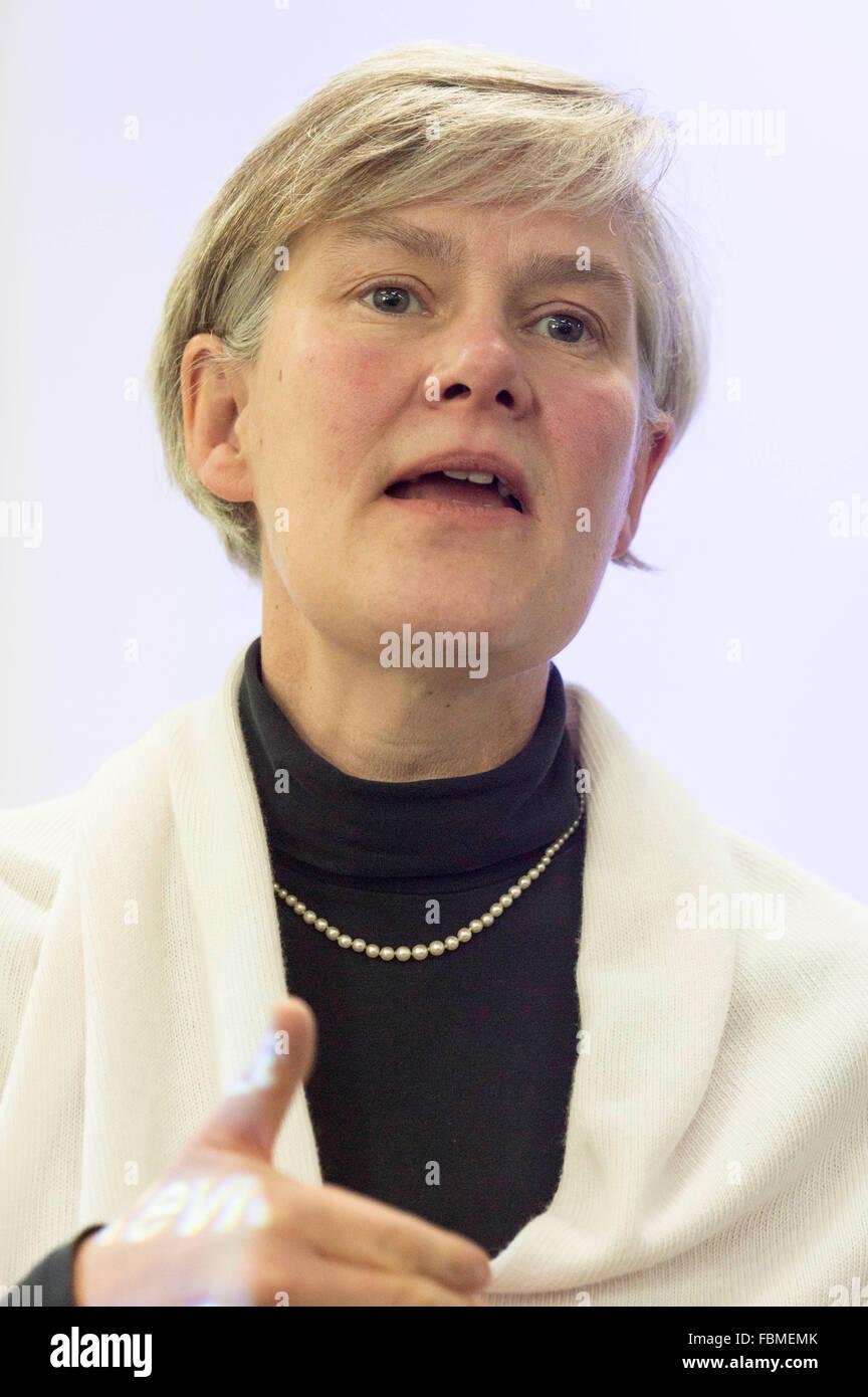 Kate Green OBE , un político del Partido Laborista Británico , MP de Stretford y Urmston desde 2010 Imagen De Stock