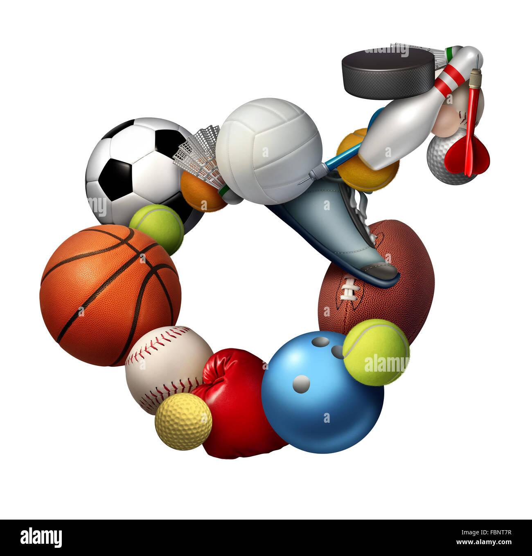 Deportes masculinos icono de signo y símbolo o deporte hombres concepto como un grupo de equipos para deportes Imagen De Stock