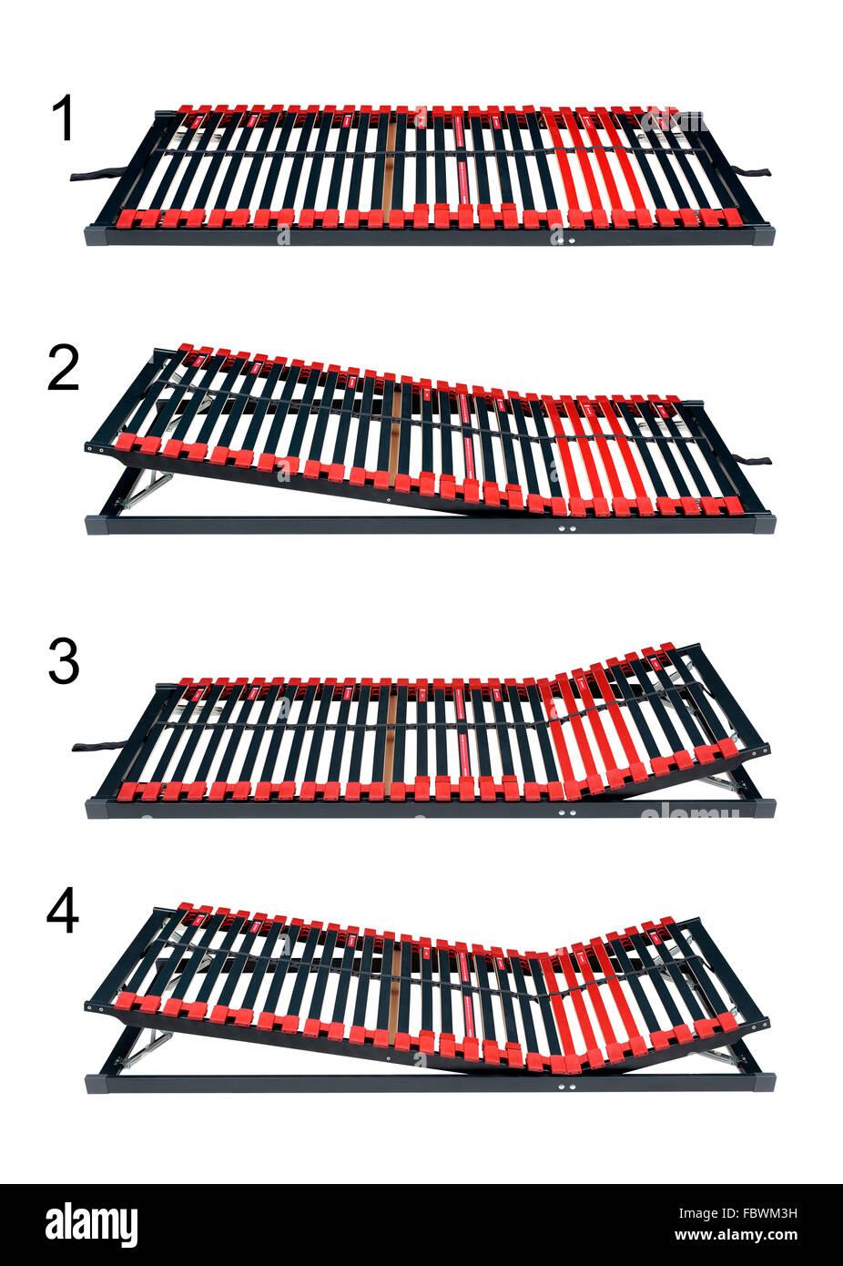 Tablillas para latoflex cama ajustable - el marco de la cama y ...