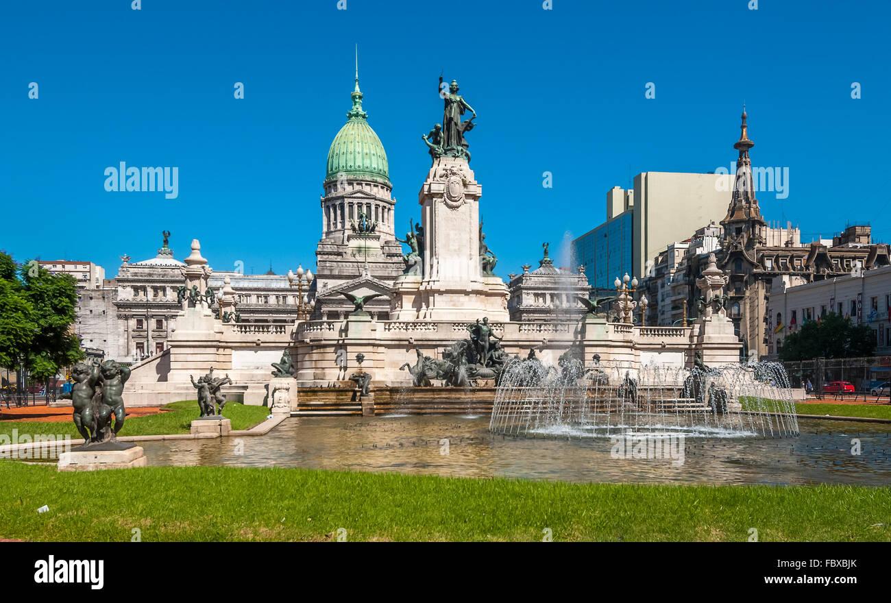 Congreso de la Nación, Buenos Aires, Argentina Imagen De Stock