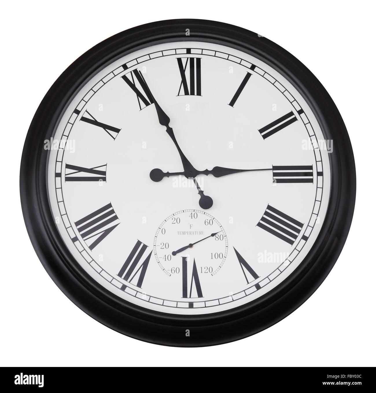 5c60b27d836c Reloj De Pared Analógico Imágenes De Stock   Reloj De Pared ...