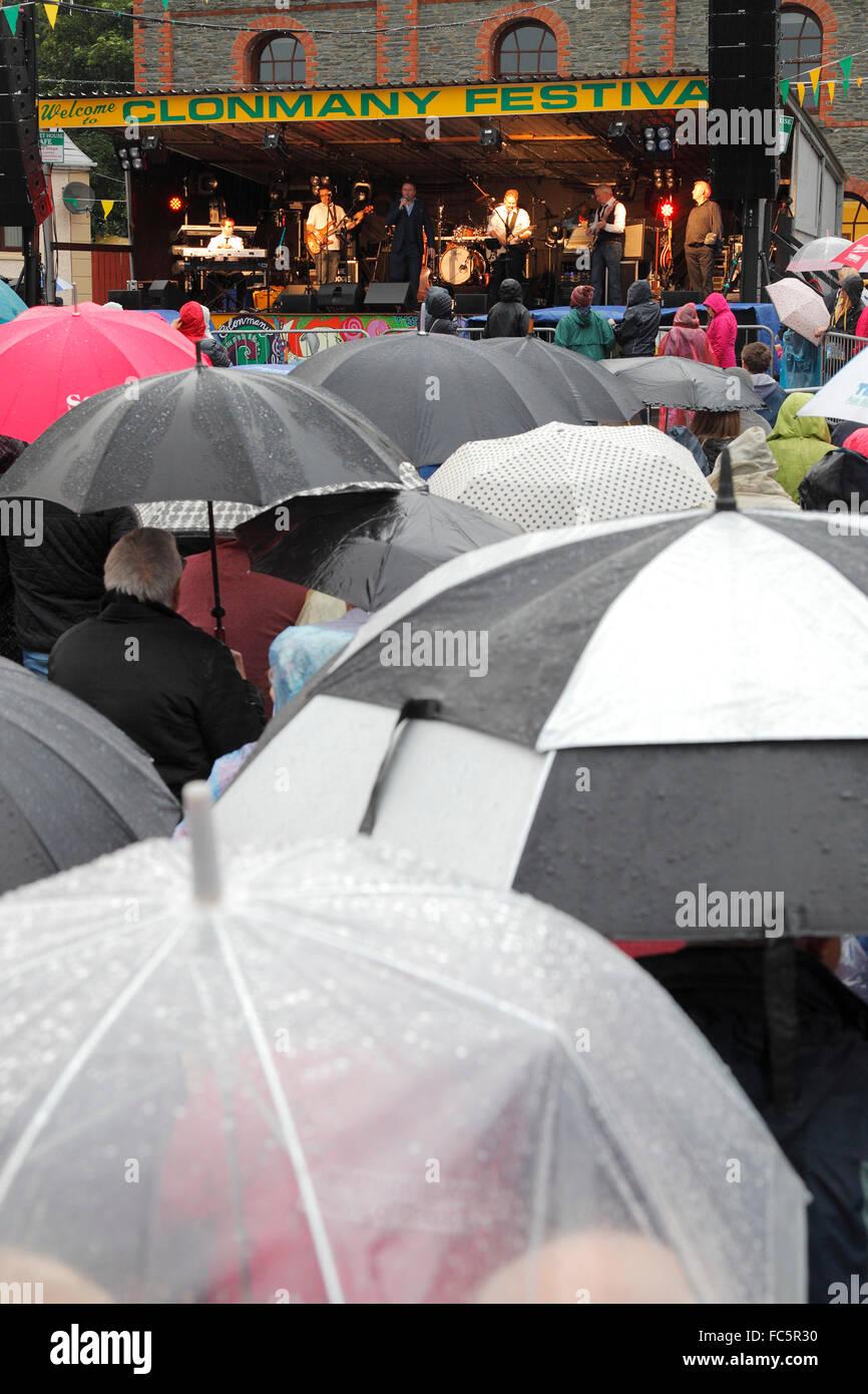 Festival de música en Clonmany 2015; el Condado de Donegal, en la República de Irlanda Imagen De Stock