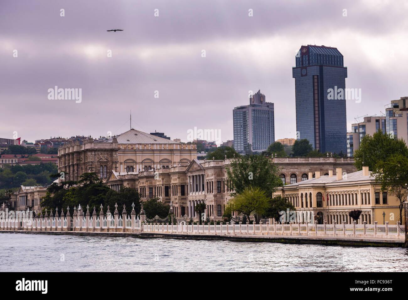 El palacio de Beylerbeyi, Estambul, Turquía, Europa Imagen De Stock