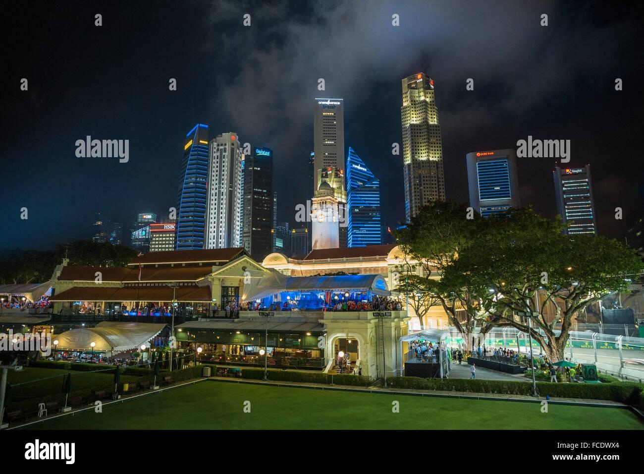 Circuito Callejero De Marina Bay : Grand prix de fórmula uno de singapur en marina bay street circuit