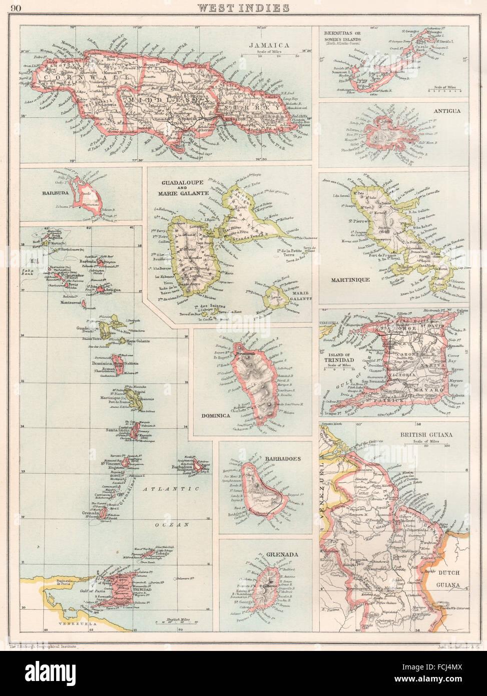 Barbados Bermuda Indias Guadalupe Martinica OccidentalesJamaica QrdxBWCeo