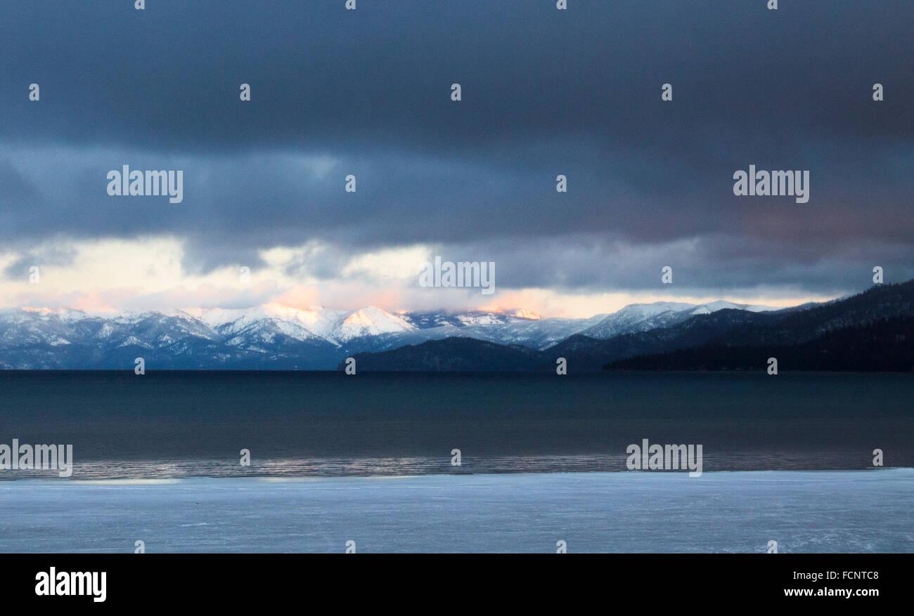 South Lake Tahoe Foto de stock