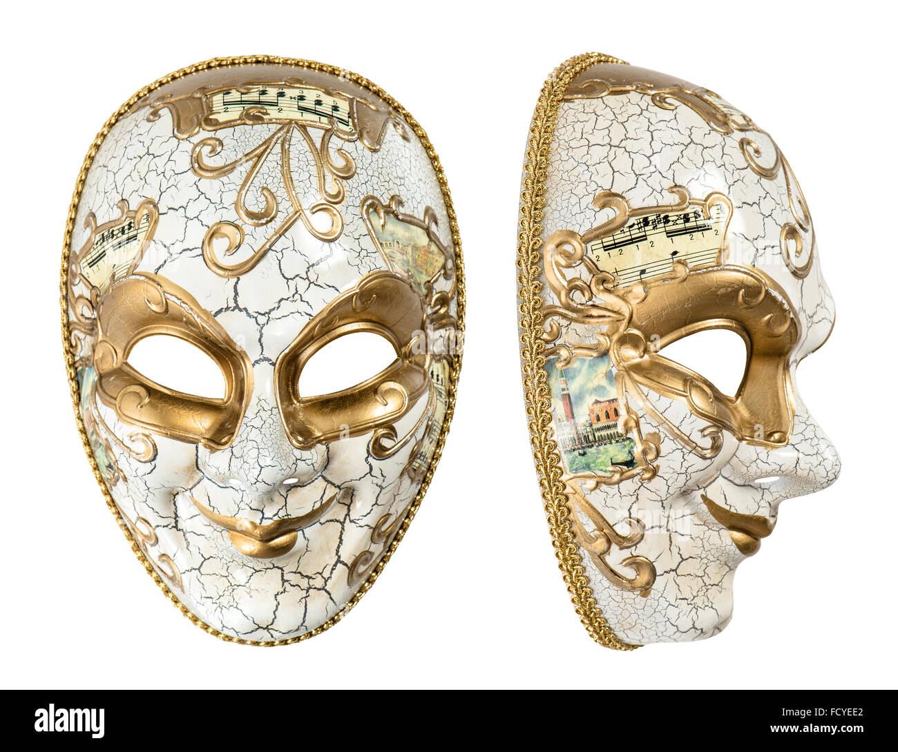 La máscara de carnaval Harlequin. Mardi Gras. Decoración de ...
