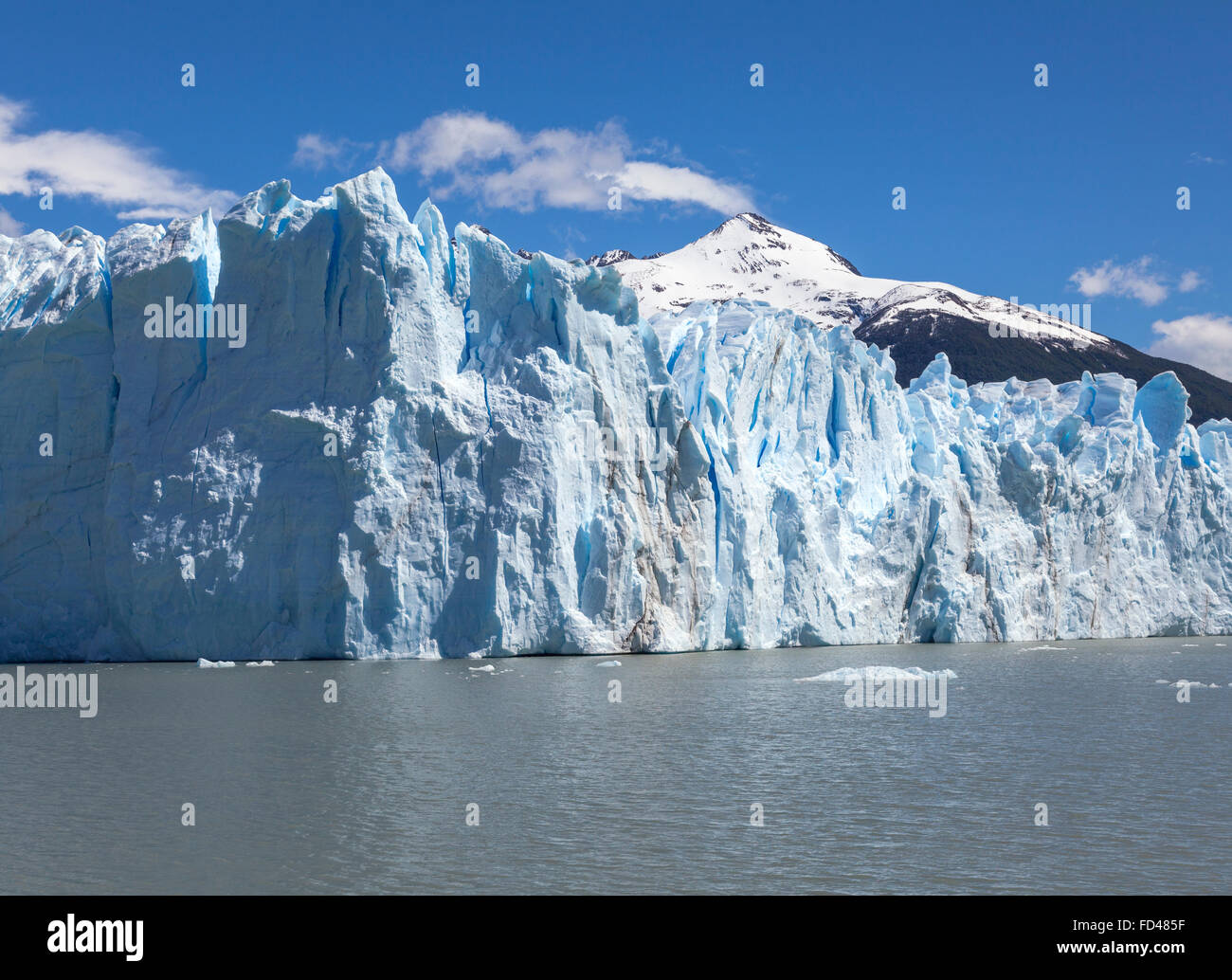Glaciar Perito Moreno en Argentina Imagen De Stock
