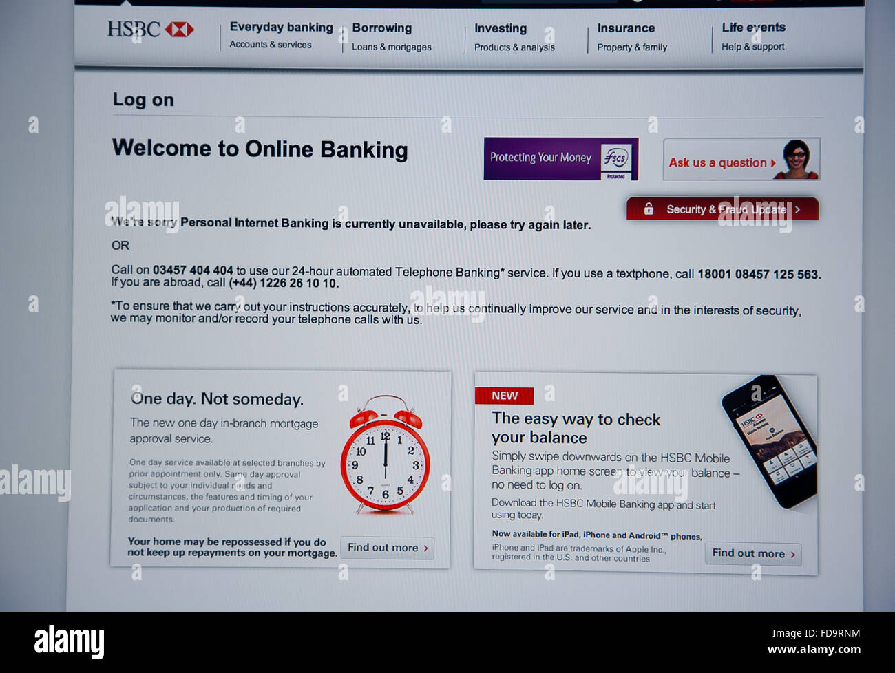 Londres Reino Unido 5 De Enero De 2016 Hsbc El Banco Más Grande