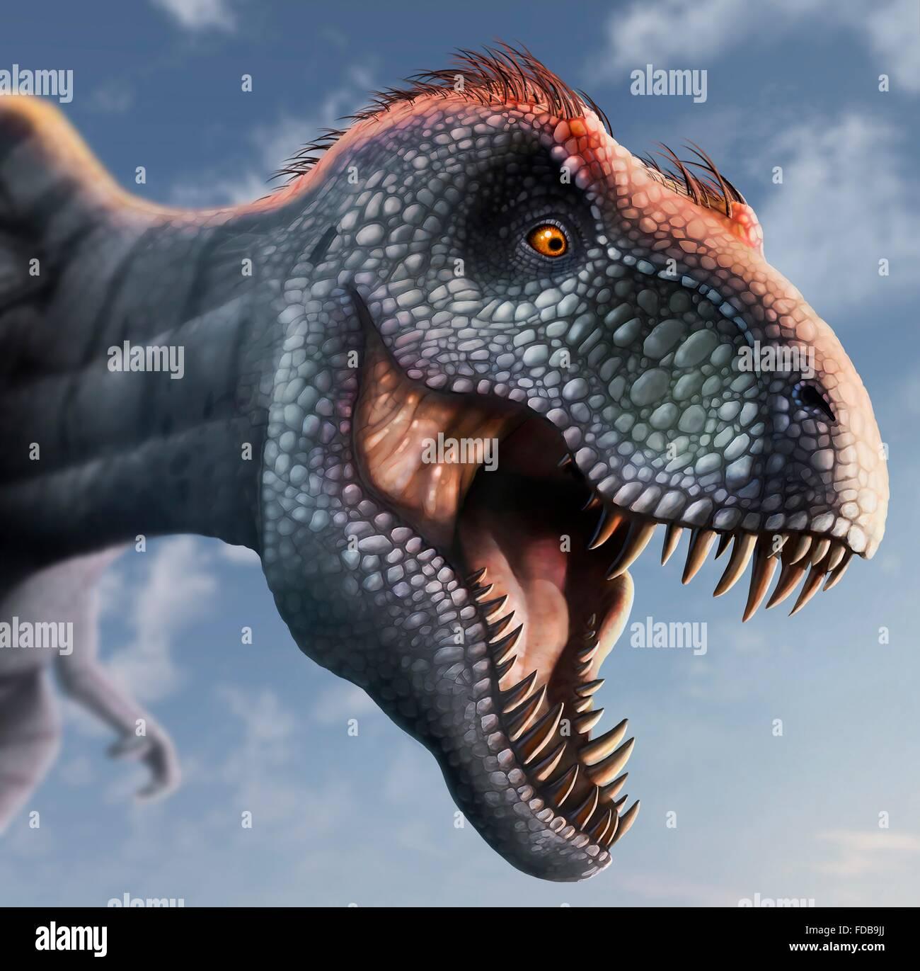 Tyrannosaurus Rex Cabeza Ilustracion Este Dinosaurio Vivia En America Del Norte Desde Hace 70 Millones De Anos Hasta La Extincion De Los Dinosaurios De Unos 5 Millones De Anos Mas Tarde La Descubrieron al pavo real de los dinosaurios. https www alamy es foto tyrannosaurus rex cabeza ilustracion este dinosaurio vivia en america del norte desde hace 70 millones de anos hasta la extincion de los dinosaurios de unos 5 millones de anos mas tarde la cabeza esta fuertemente construida para soportar impactos con presas animales y tiene los dientes afilados de un depredador t rex se piensa para haber sido un scavenger asi como un cazador entre los mas grandes dinosaurios carnivoros t rex fue de hasta 6 metros de altura y pesa tanto como 7 toneladas el animal esta representado con plumas marrones aunque si se tenian en la vida real es especulativa 94291418 html
