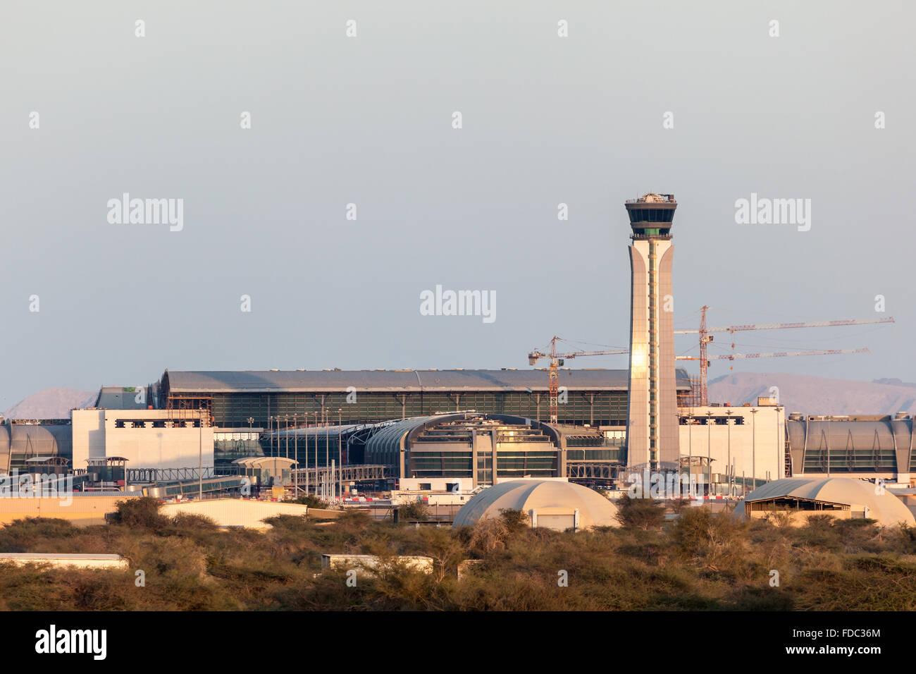 El Aeropuerto Internacional de Omán en Muscat. Imagen De Stock