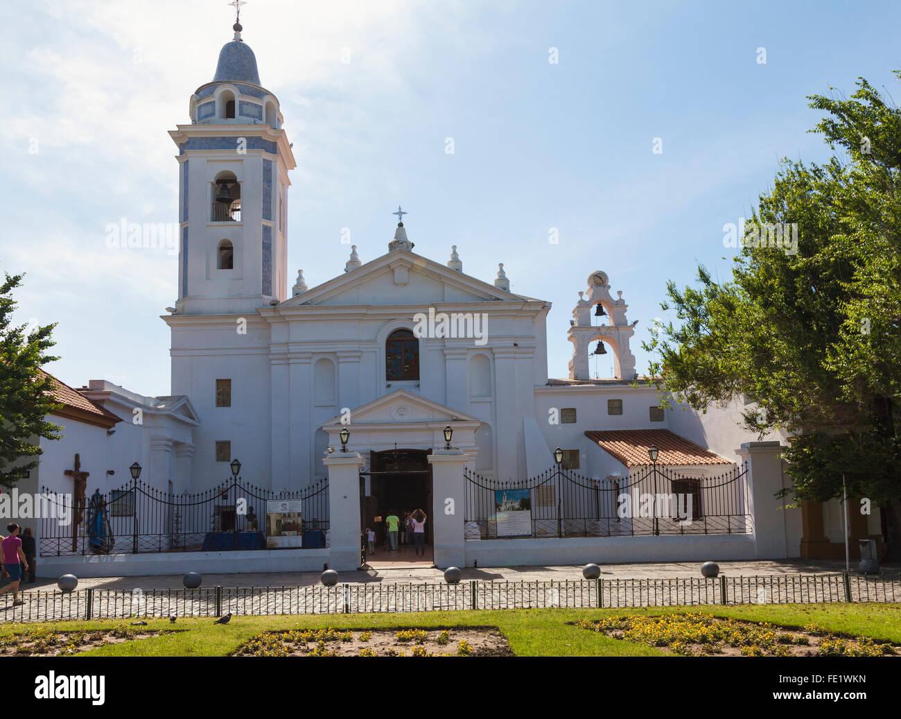 Basílica de Nossa Señora de Pilar, Recoleta, Buenos Aires - Argentina Foto de stock