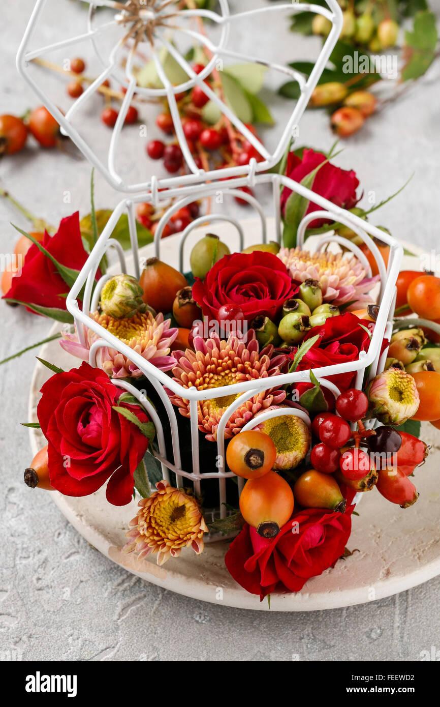 Floristería En El Trabajo Cómo Hacer Arreglos Florales Con