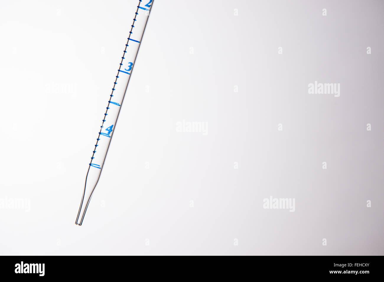Pipeta sierologiche Imagen De Stock