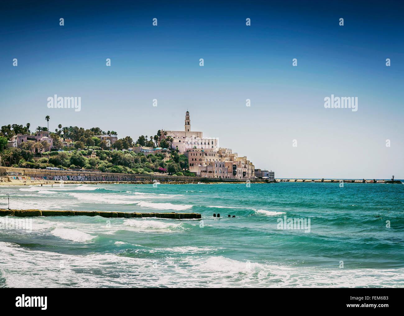 Jaffa yafo area antigua de la ciudad de Tel Aviv, Israel Imagen De Stock