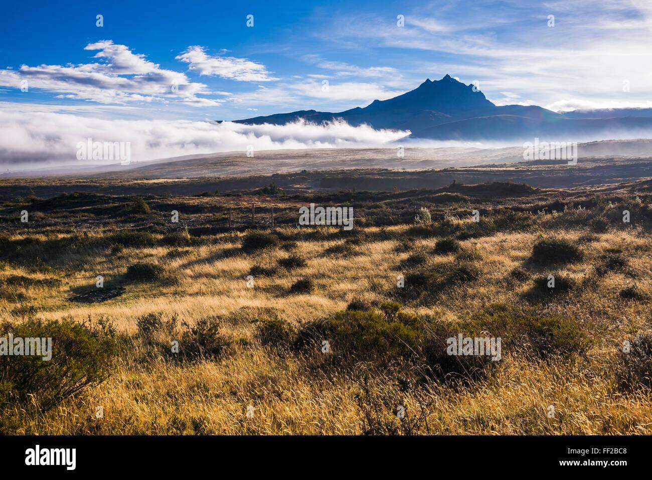 SinchoRMagua VoRMcano al amanecer, Provincia de Cotopaxi, Ecuador, Sudamérica Foto de stock