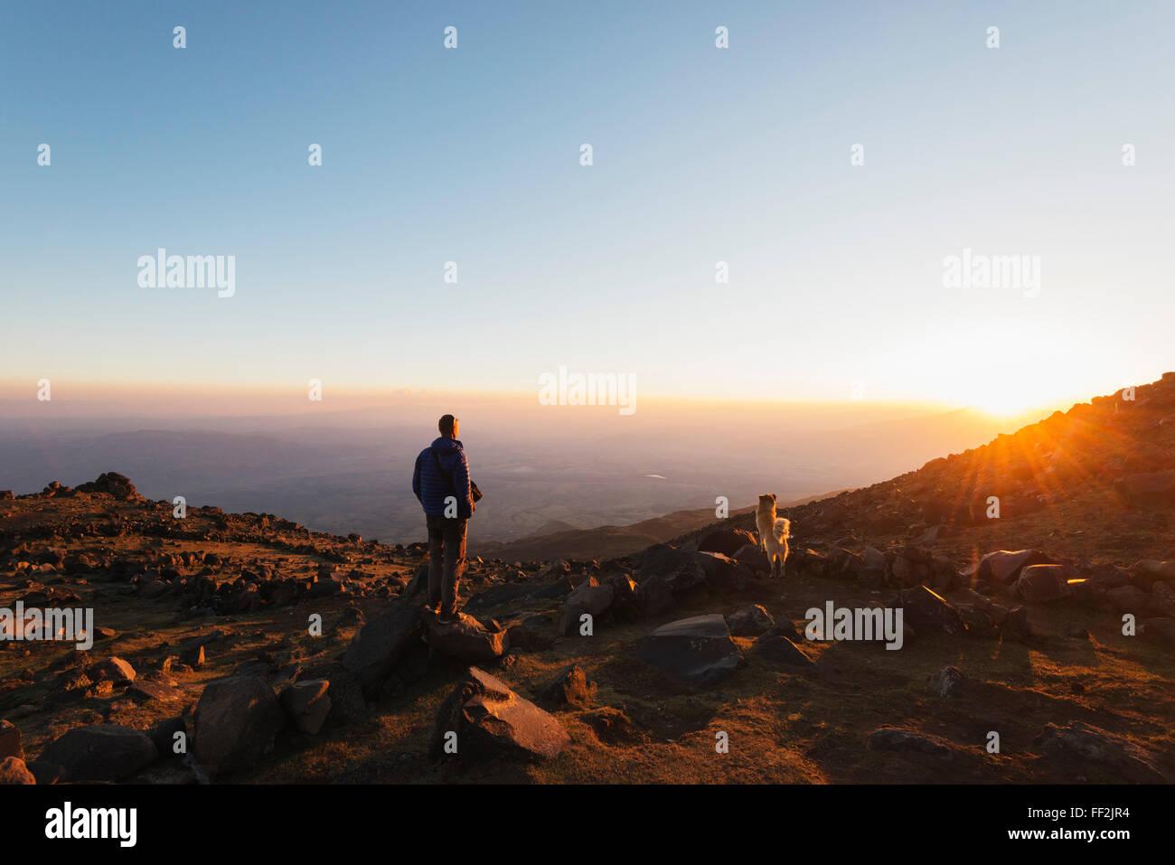 CRMimber en el monte Ararat, 5137m, AnatoRMia Dogubayazit, Oriental, Turquía, Asia Menor, Eurasia Foto de stock
