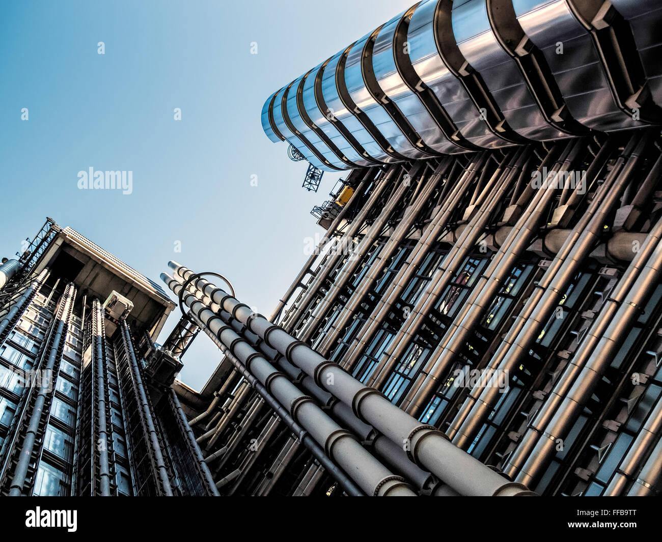 Edificio Lloyds de Londres. Imagen De Stock
