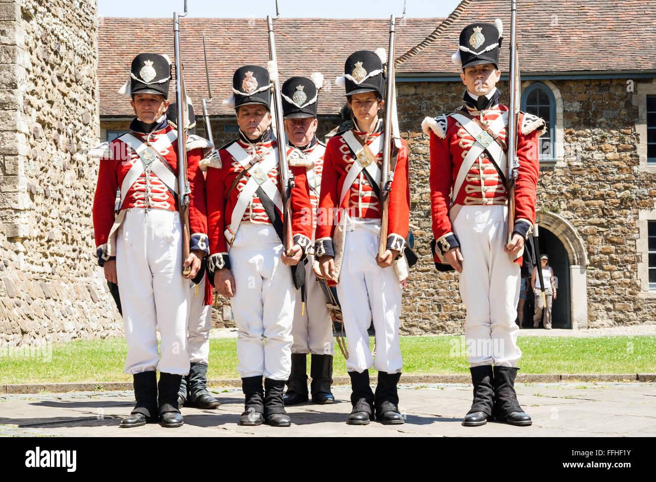 English soldier uniform