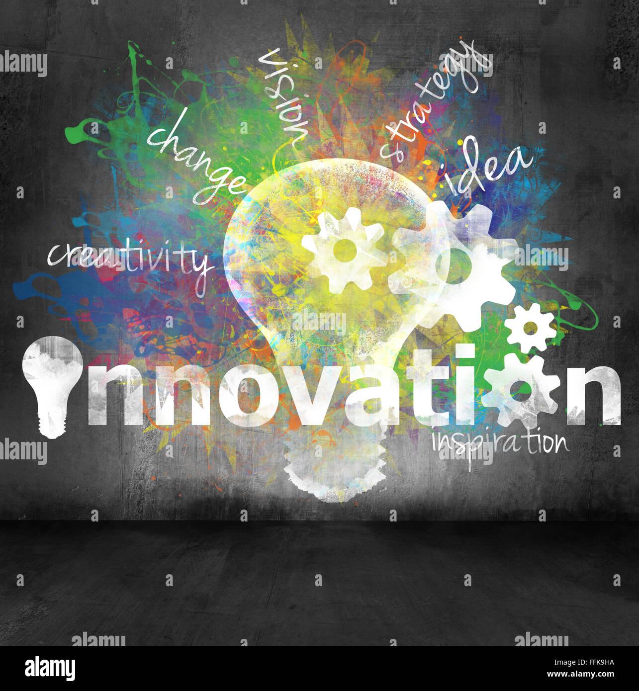 Concepto innovación Imagen De Stock