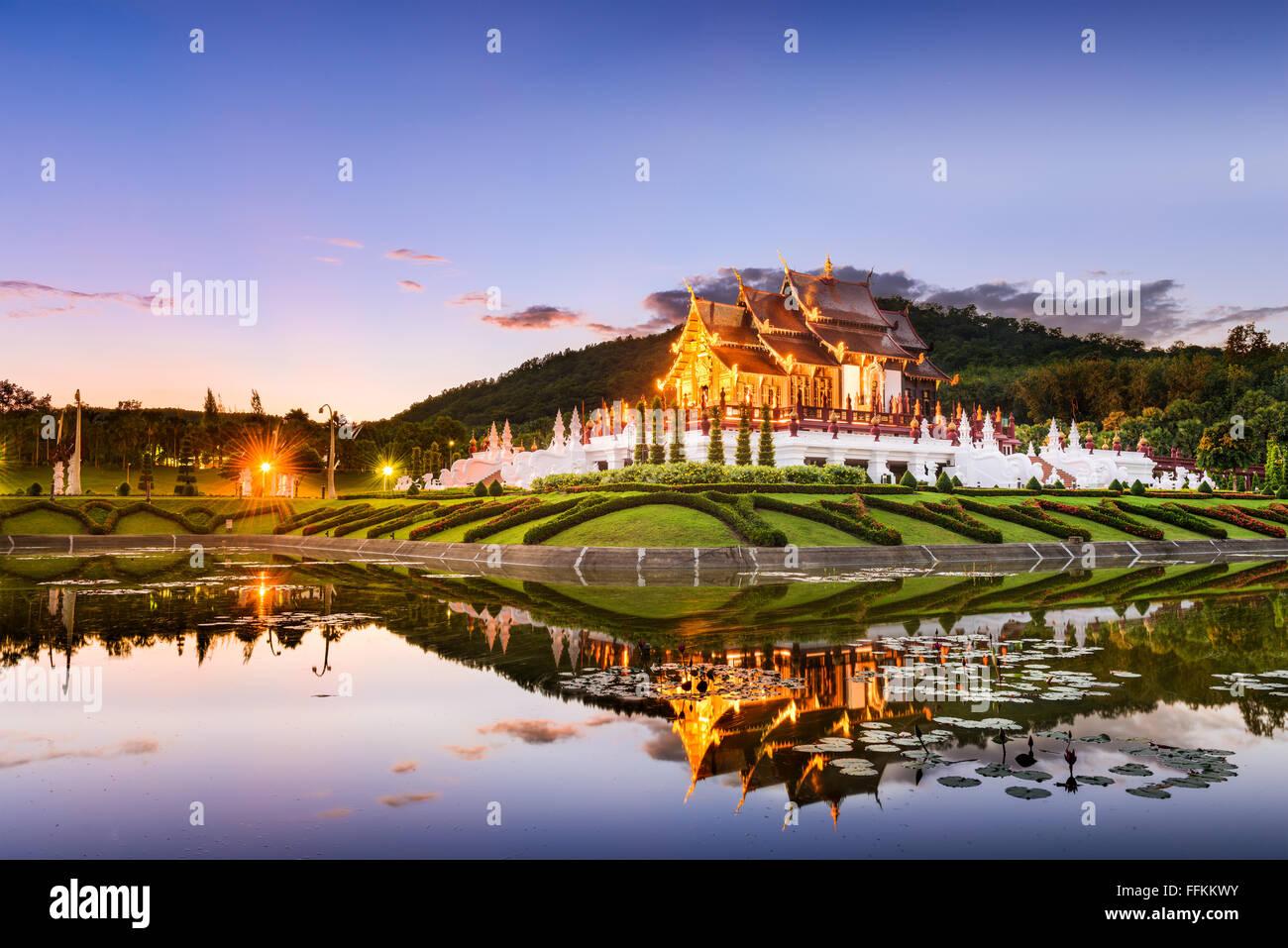Chiang Mai, Tailandia, en Royal Flora Ratchaphruek Park. Imagen De Stock
