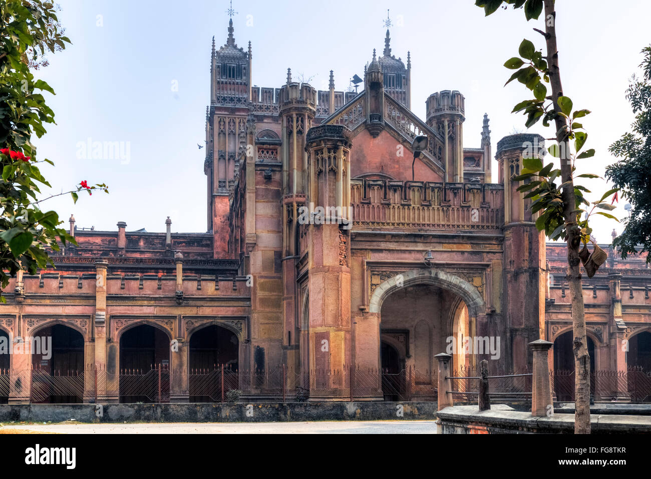 La Banaras Hindu University, Varanasi, Uttar Pradesh, India Imagen De Stock