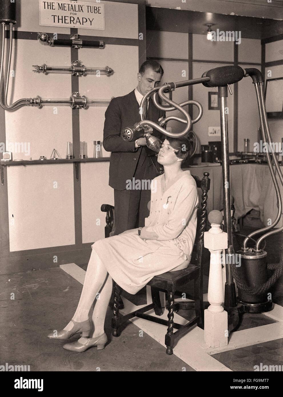 Los rayos x en los 30's Imagen De Stock
