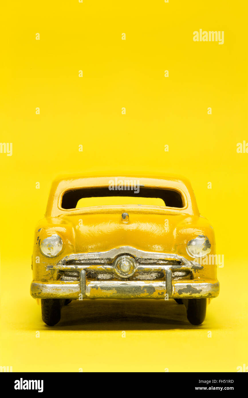 Ford Sedan modelo vintage Dinky Toy Car Imagen De Stock