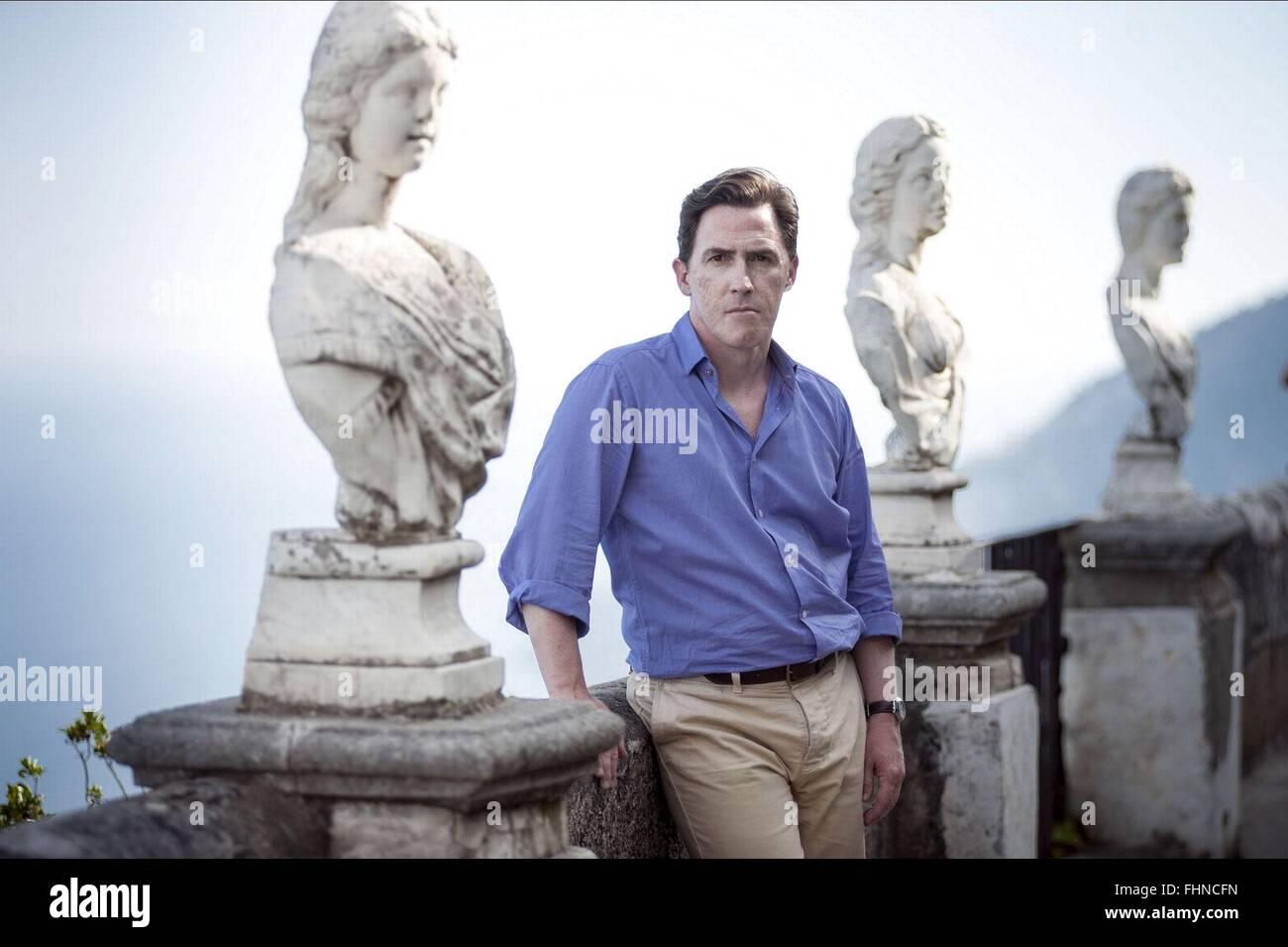 ROB BRYDON el viaje a Italia (2014) Imagen De Stock