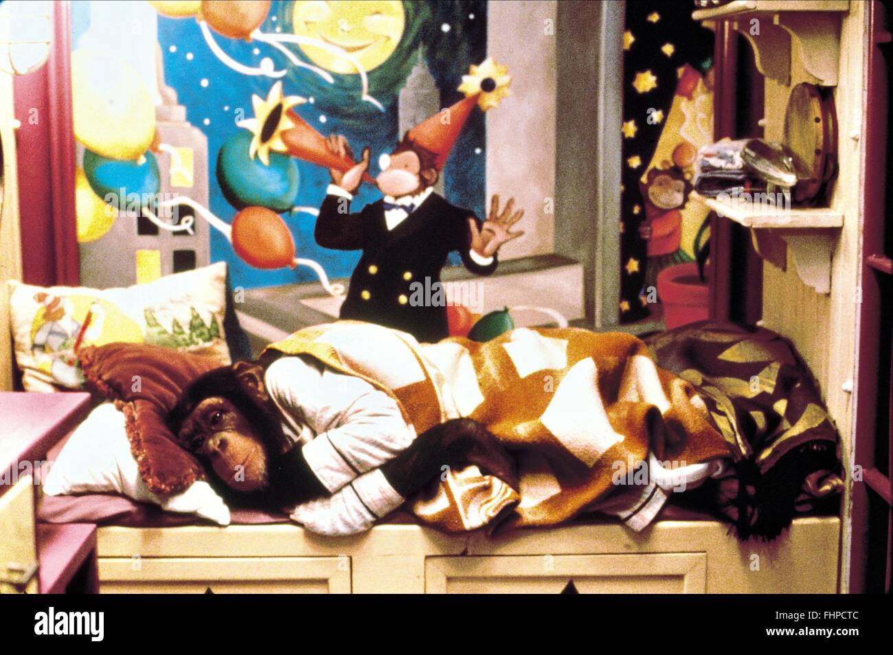 El chimpancé Buddy (1997) Imagen De Stock