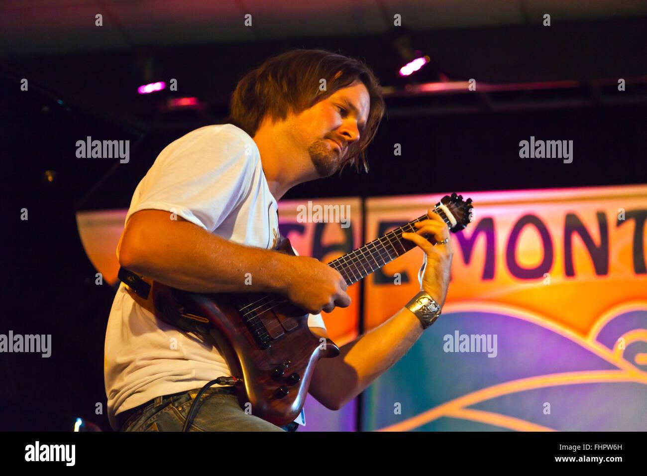 Shangrilá viaje actúa en el Festival de Jazz de Monterey, California Imagen De Stock