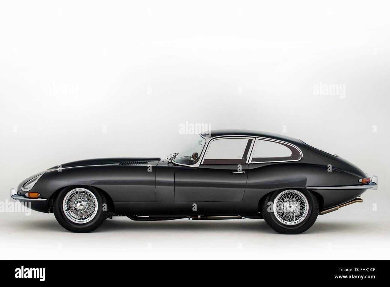 1965 Jaguar E type Imagen De Stock