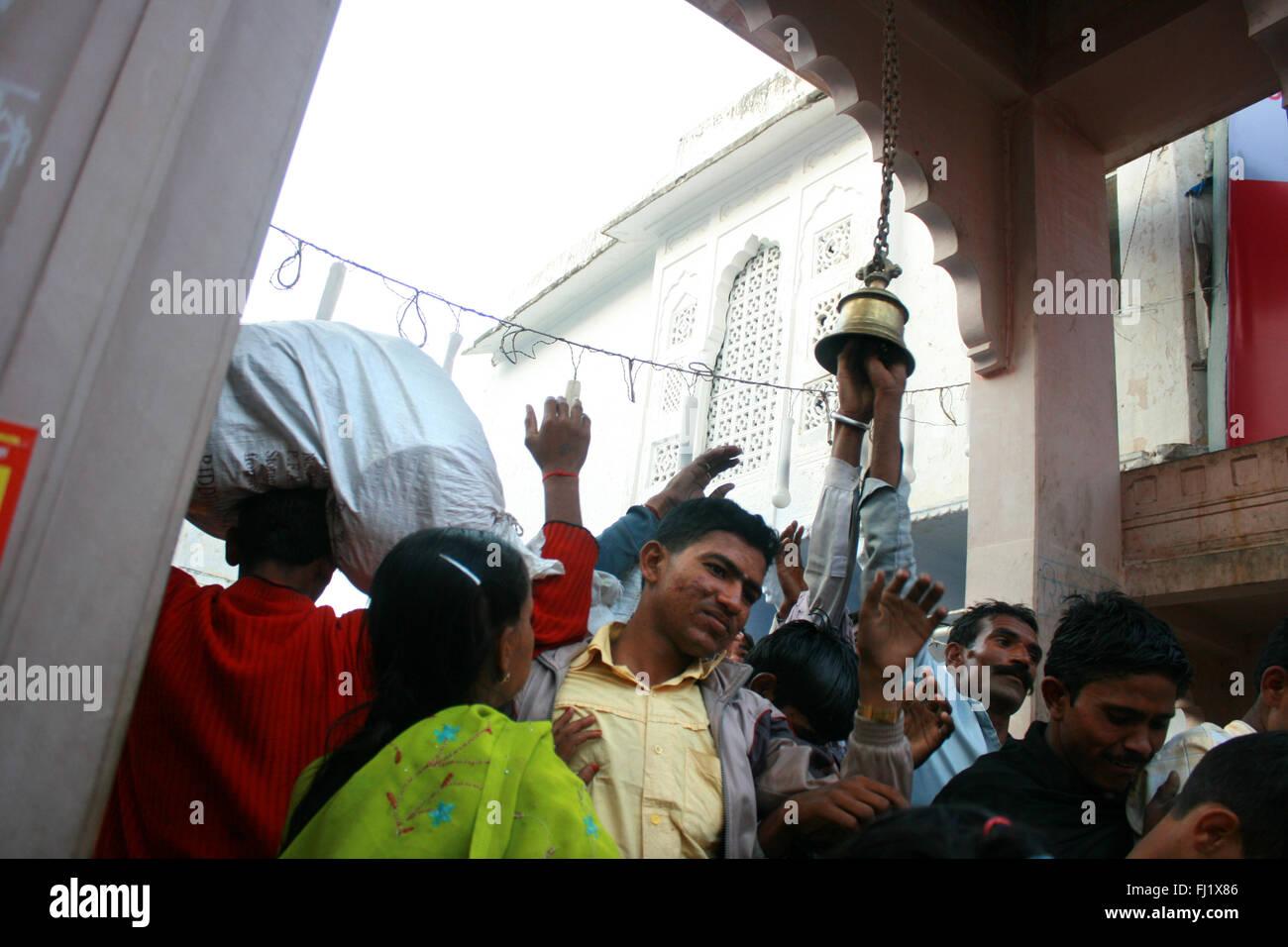 Pushkar mela feria de camellos , la gente , la atmósfera y la escena en la calle Imagen De Stock