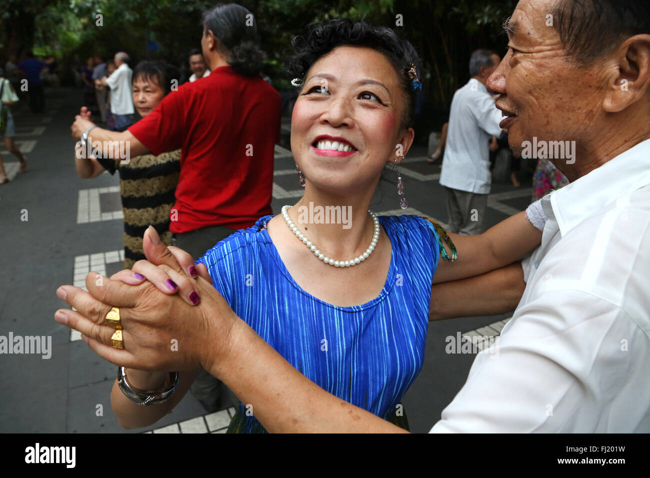 China retrato cara ojos personas Imagen De Stock