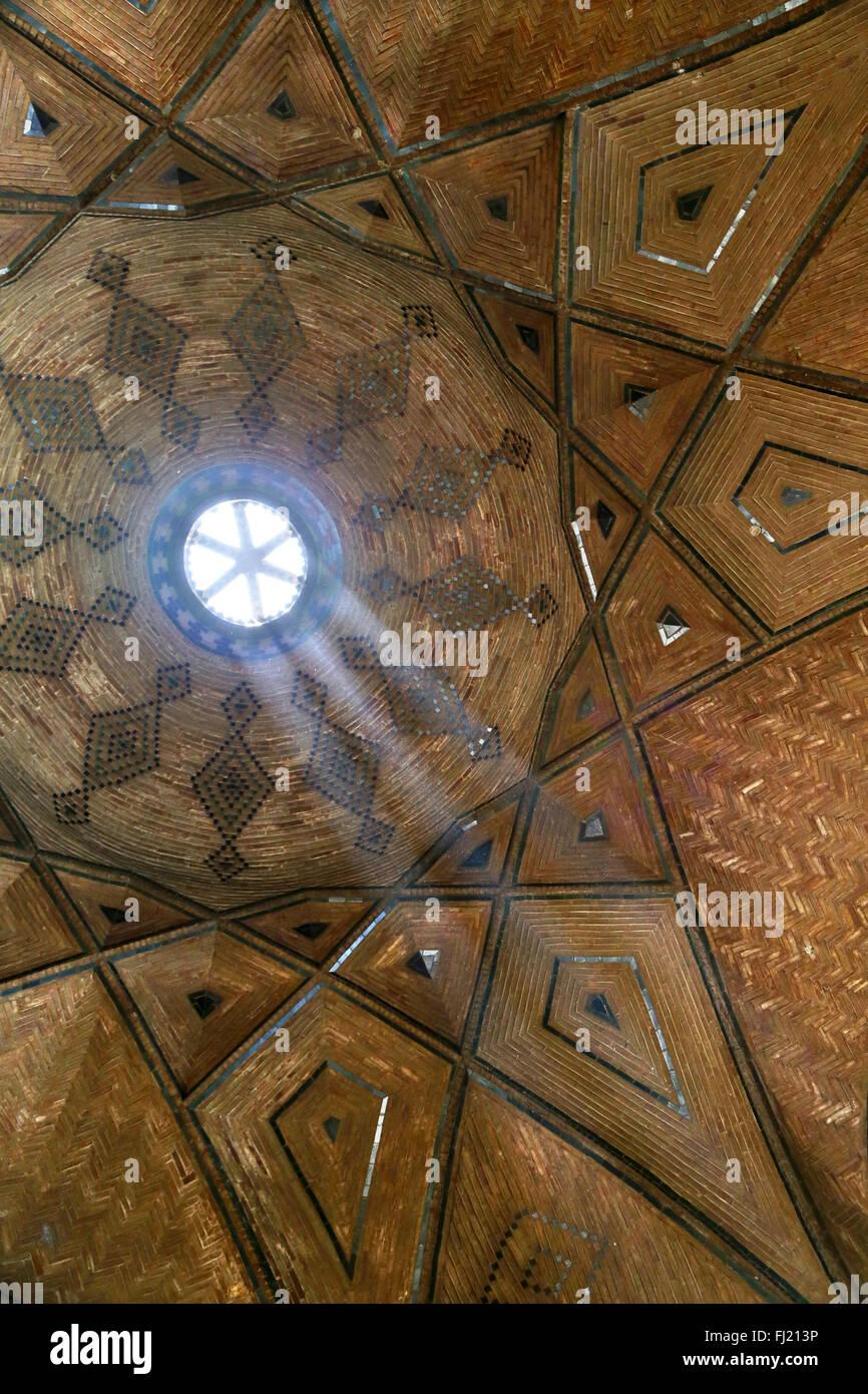 Ilustración de la azotea del bazar de Ispahán - Arquitectura en Irán Persia Imagen De Stock