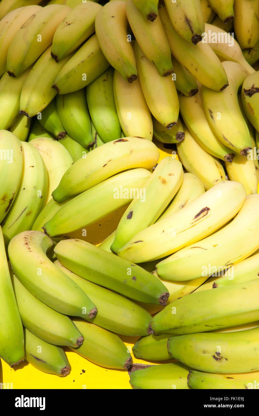 frutas de plátano Foto de stock